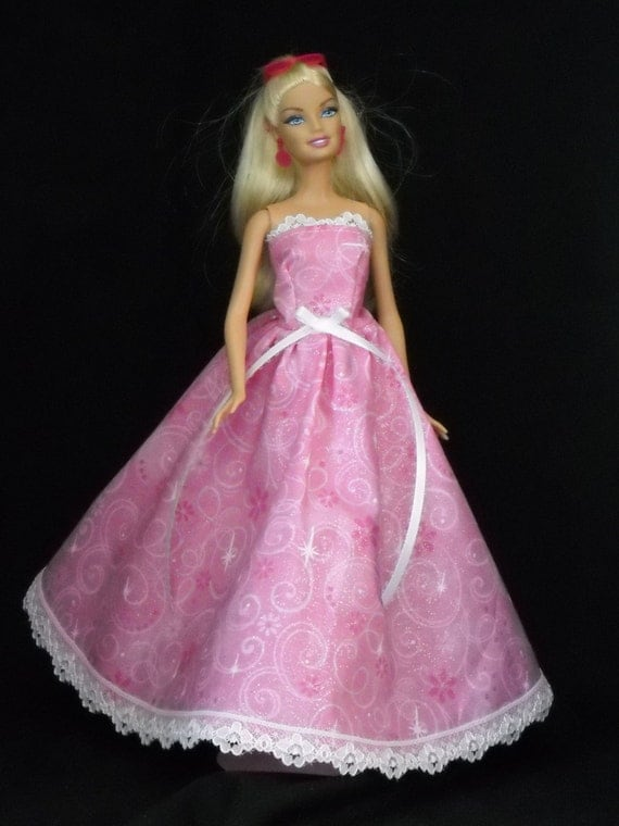 Images of Barbie Doll Pink Dresses - #SpaceHero