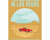 Fear and Loathing in Las Vegas 12x18 inches movie poster