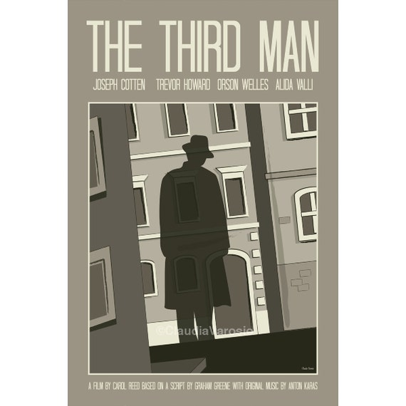 The Third Man movie poster in various sizes