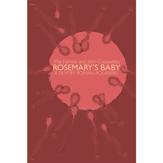 Rosemary's Baby 12x18 inches movie poster