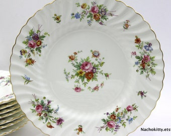 Minton Dinner Plate Set, Marlow Vintage English Fine China