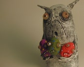 infestation  monster ooak art doll sculpture