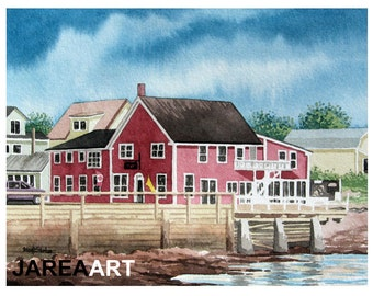 Cottage Craft, St. Andrews, New Brunswick, Canada Reproduction Print