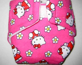 Baby Doll Diaper-Hello Kitty with Flowers