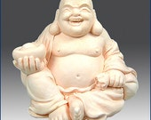 3D Silicone Soap and Candle Mold  -Laughing Buddha - free shipping