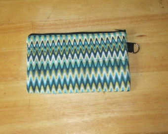 Zipper Pencil Pouch or Cosmetic case