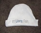 Detroit Lions NFL Football Baby Infant Newborn Hat Beanie  Hat Cap
