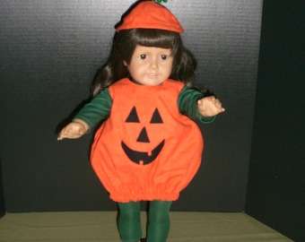 American Girl Doll Pumpkin Costume