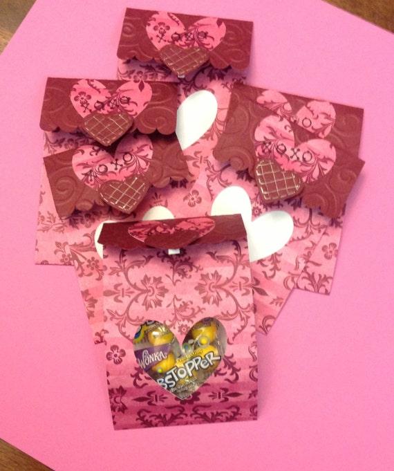 Valentines: flourish & hearts set of 6  Valentines, kids, children, candy, school