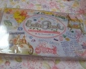 Easter Parade Set of Unmounted Red Rubber Stamps - 22 pieces