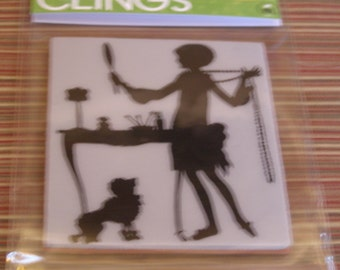 Getting Ready Hero Arts Clings foam-mounted Stamp