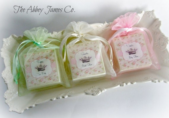 Shabby Chic Shower Favors Tea Party Favors Baby Shower