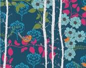 LAST 1 Yard - Valori Wells Novella Finnelopy in Indigo