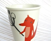 SALE ---> Mug - Fox with branch