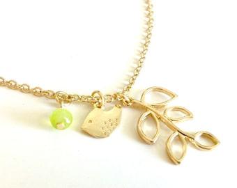 Springtime Birdie Necklace
