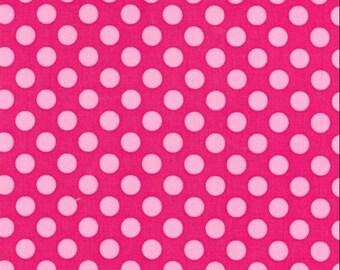 FAT QUARTER- Ta Dot Confections Pink by Michael Miller Fabrics CX1492-CONF-D