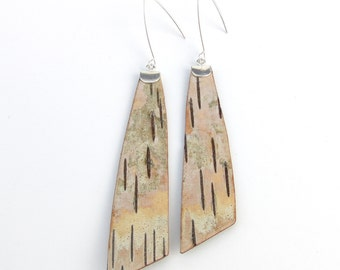 Birch bark earrings, Slopes