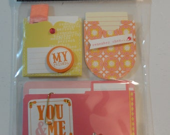 ME & MY BIG Ideas Stickers - Scrapbook Embellishments - Spring Enclosures