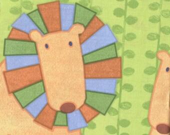 Jungle Buddies Panel by Viv Eisner cotton fabric
