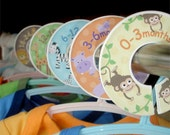 Closet Dividers - Safari Jungle Zoo Animals for Boys and Girls