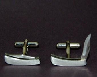 Working Stainless Knife Cufflinks - YOU Are Sooo Sharp