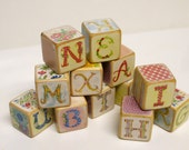 12 Pretty Vintage Blocks - CUSTOMIZABLE
