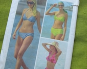 70s Vintage Sewing Pattern - Simplicity 5576 Swimsuit Pattern The Every Body Bikini - UNCUT / Size 12/14
