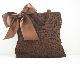 Crochet handbag Bridget
