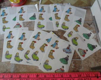 66 Old Fashioned Doll stickers