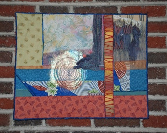 Abstract Quilted Wall Hanging
