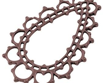 Antique Bronze Metal Pendants