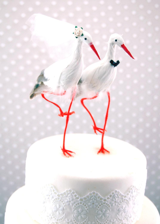 Heron Cake Topper
