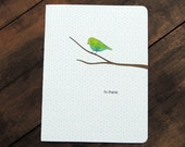 Little Bird hello, Hi there card