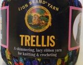 "Lion Brand Yarn ""Trellis""- Rainbow"
