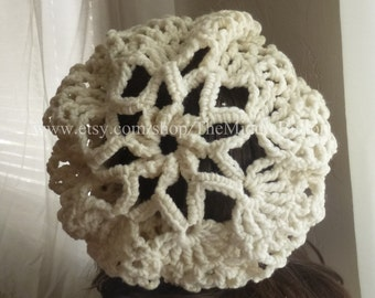 Bridget - Cozy Snood - In Vanilla Cream