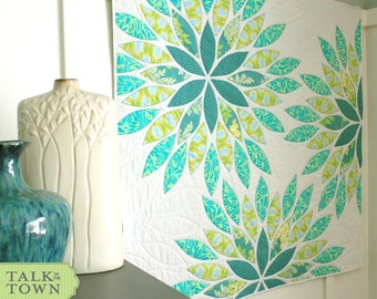 Sea Glass - Applique Baby Quilt PDF