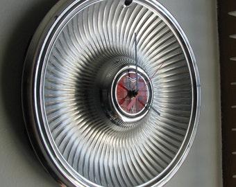 1978-79 Pontiac Hubcap Clock   no.2487