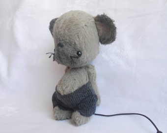 Artist bear mouse made to order by Sylvie Touzard