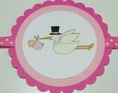 Stork 'Congratulations' Banner