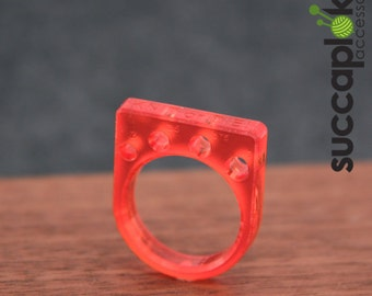 KNIT or DIE! -Power Ring- (EUR/mm) Ring with knitting needle gauge, custom sizing