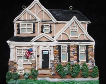 Custom Home Ornament -  Detailed Stonework - Hand Sculpted - Architectural and Landscape Detail