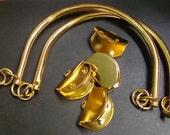 Metal Steel Handle ( Gold colour )