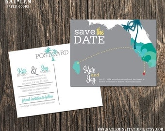 Key West Florida – Save the Date – Destination Wedding – Wedding Save the Dates