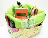 Mini Organizer Basket with 12 Pockets pdf Sewing Pattern