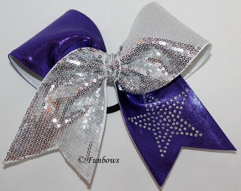 Hollywood Superstar Glitz Cheerleading Hairbow by Funbows
