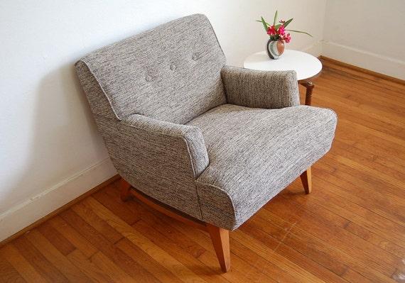 Mid Century Modern Vintage Lounge Chair