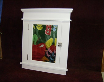 Medicine Cabinet Mendenhall Style Compact Size In-Wall Beveled Mirror