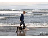 BOBBY AND FRECKLES, Oregon Coast, 1968, Clyde Keller Photo, large 16x20 Inch Fine Art Print, Color, Signed, Treasury
