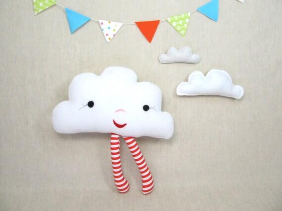 Plush Pillow Toy - Mrs Cloudine