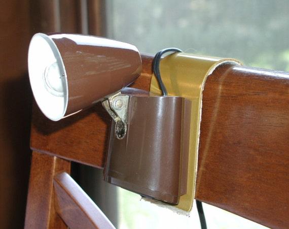 Tensor Hanging Lamp Vintage Headboard Light